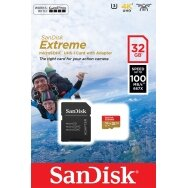 KARTA SANDISK EXTREME 32GB V30 CLASS10 MICRO SDHC 100/60 MB/S A1